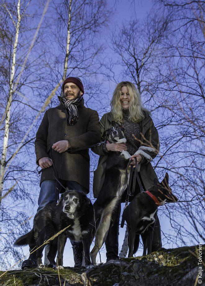 Minna, Mikko ja koirat